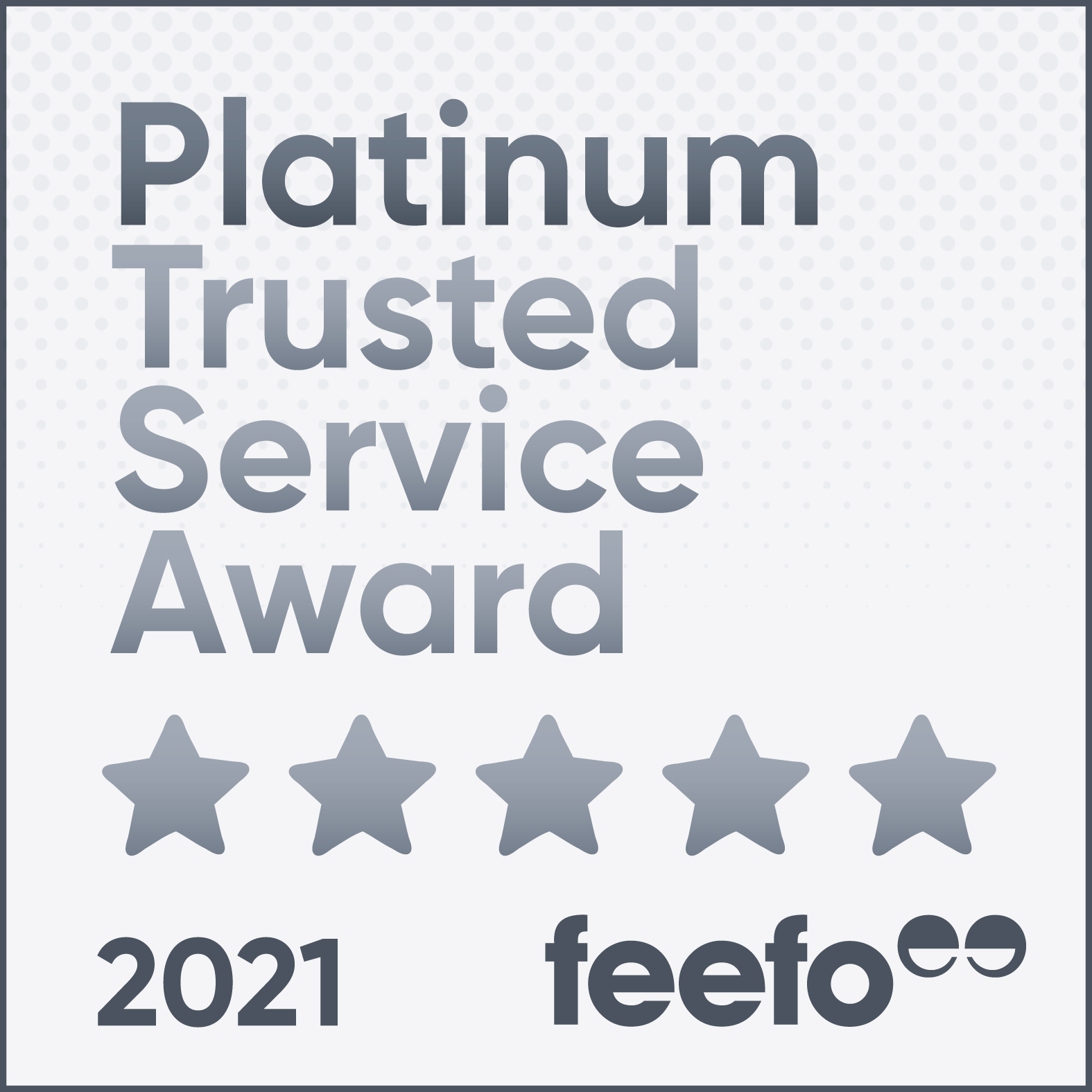Feefo - Platinum Rated